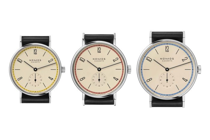 "NOMOS Tangente ""A Century of Bauhaus"" Limited Edition"