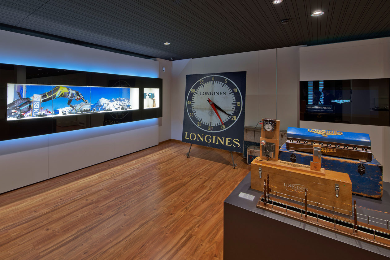 Muzeum Longines - historia pomiaru czasu