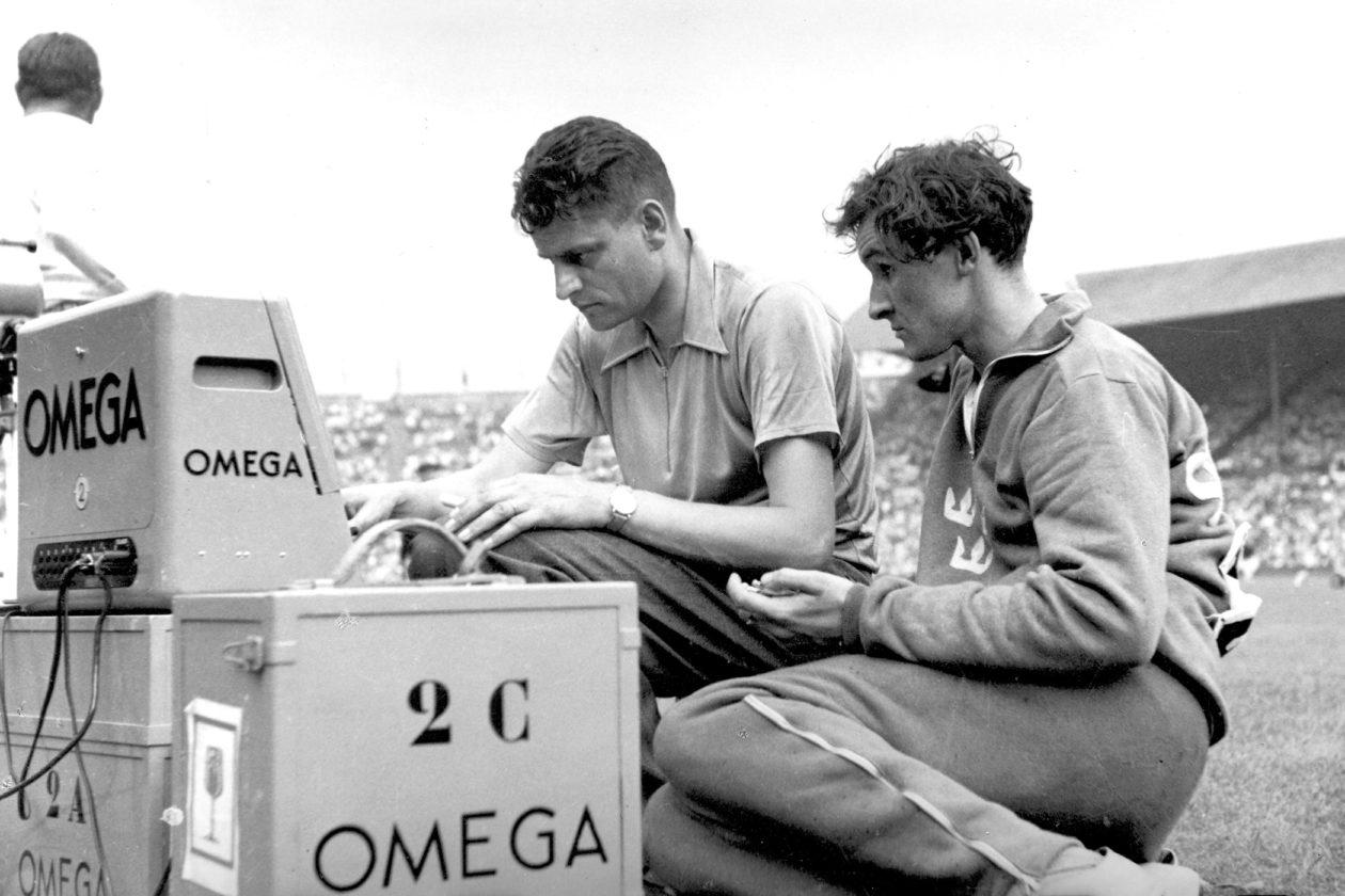 Pomiar czasu - Omega, 1948 rok