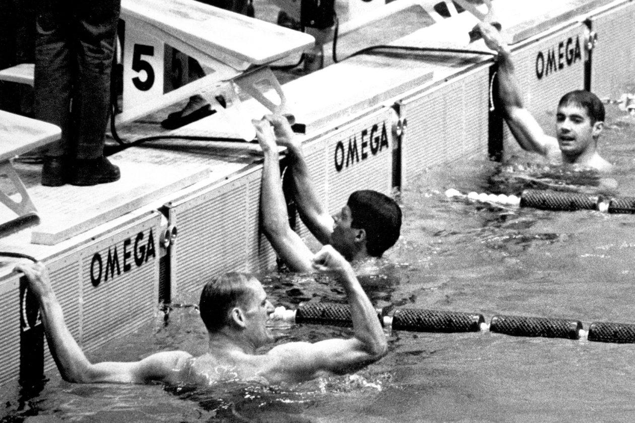 Omega i jej dotykowe tablice - 1960 rok
