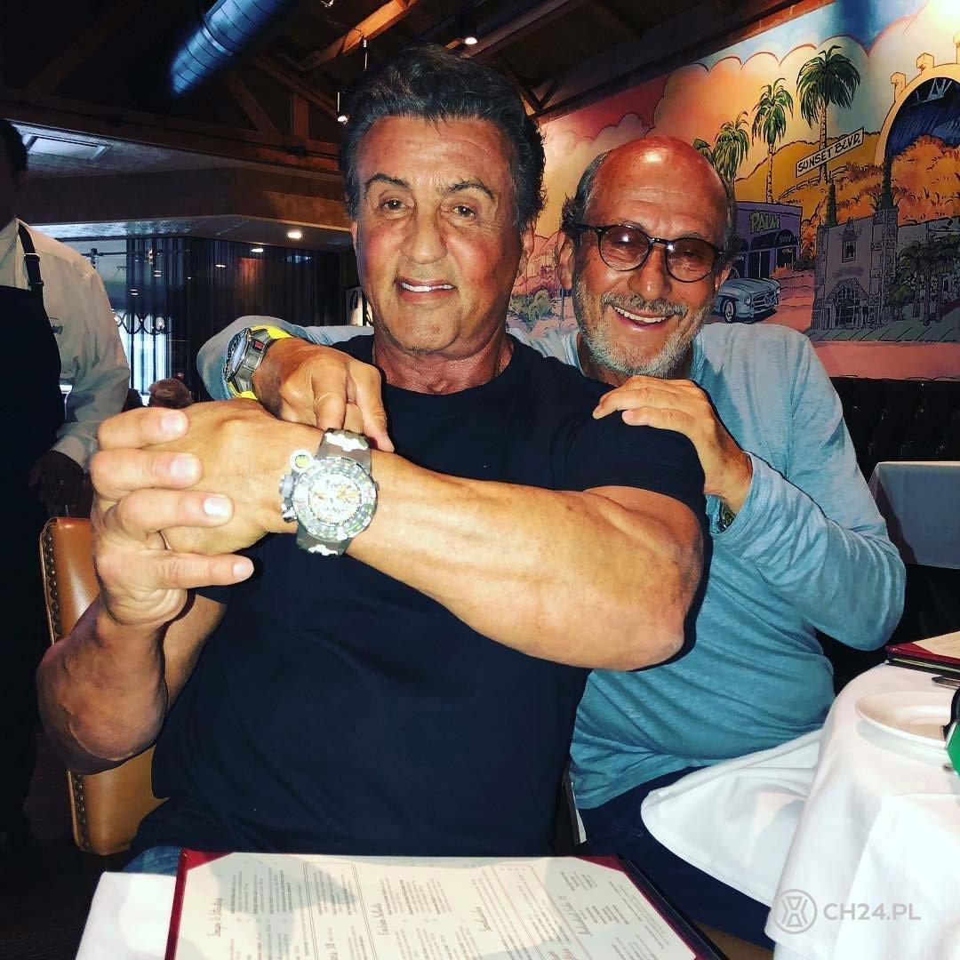 Sylvester Stallone i Richard Mille / foto: instagram.com/officialslystallone