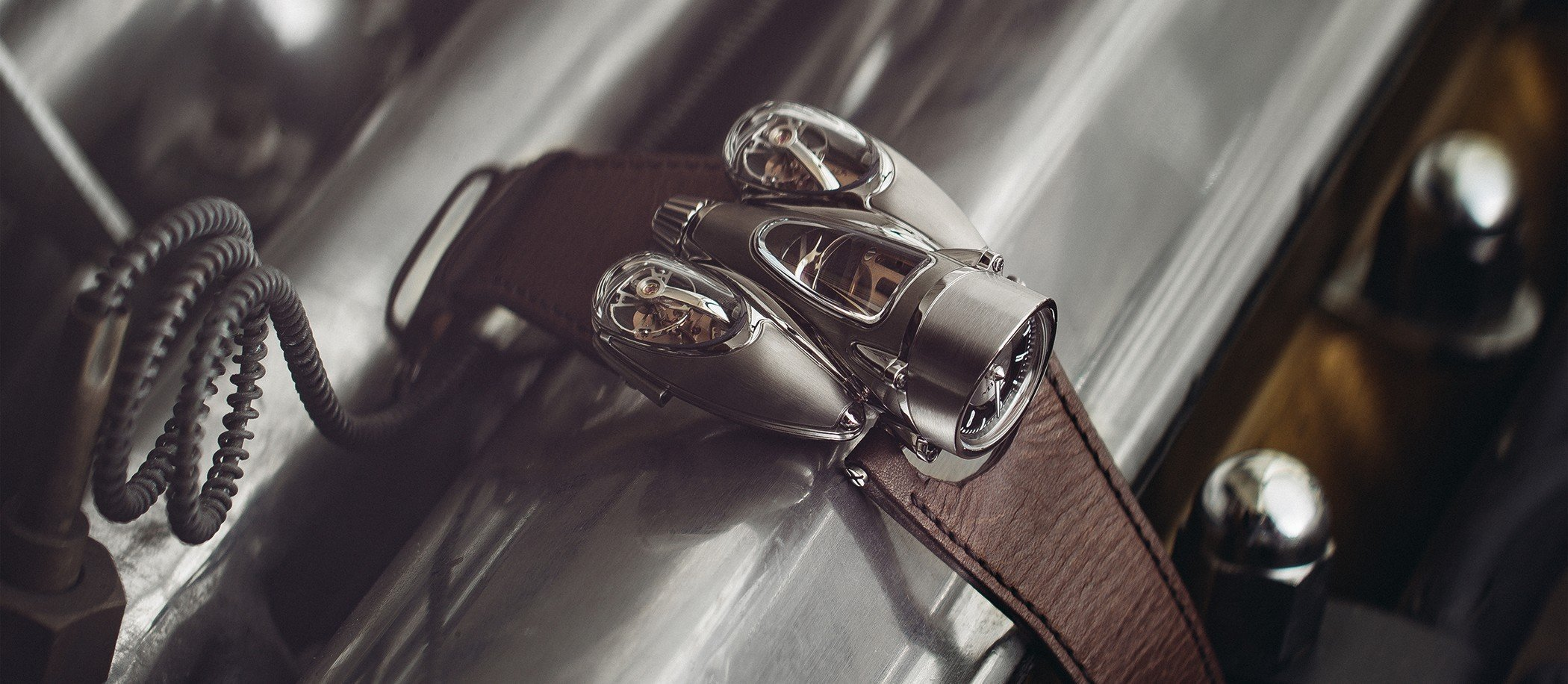 "MB&F Horological Machine No.9 ""Flow"""