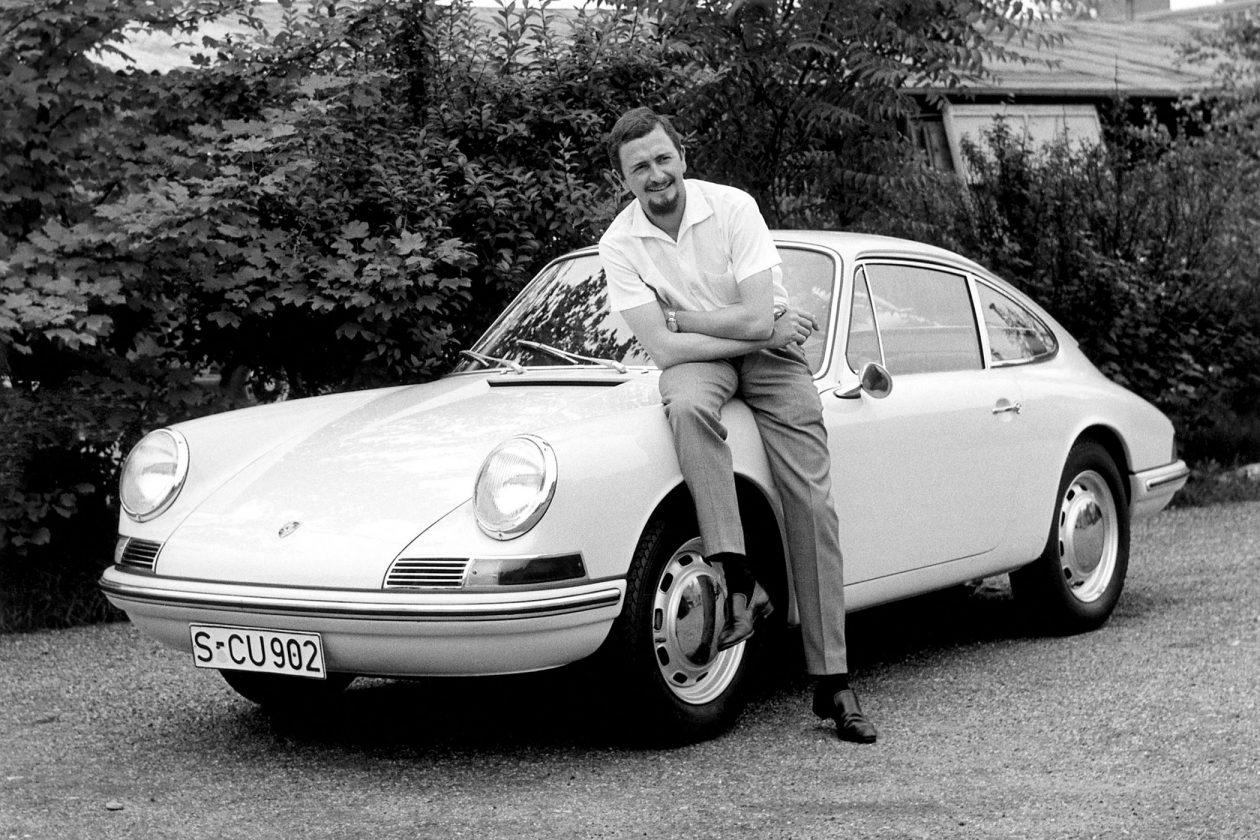 Ferdinand Alexander Porsche i zaprojektowane przez niego Porsche 911