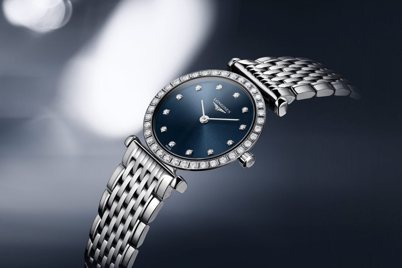 Longines La Grande Classique – damski klasyk z niebieską tarczą [cena]