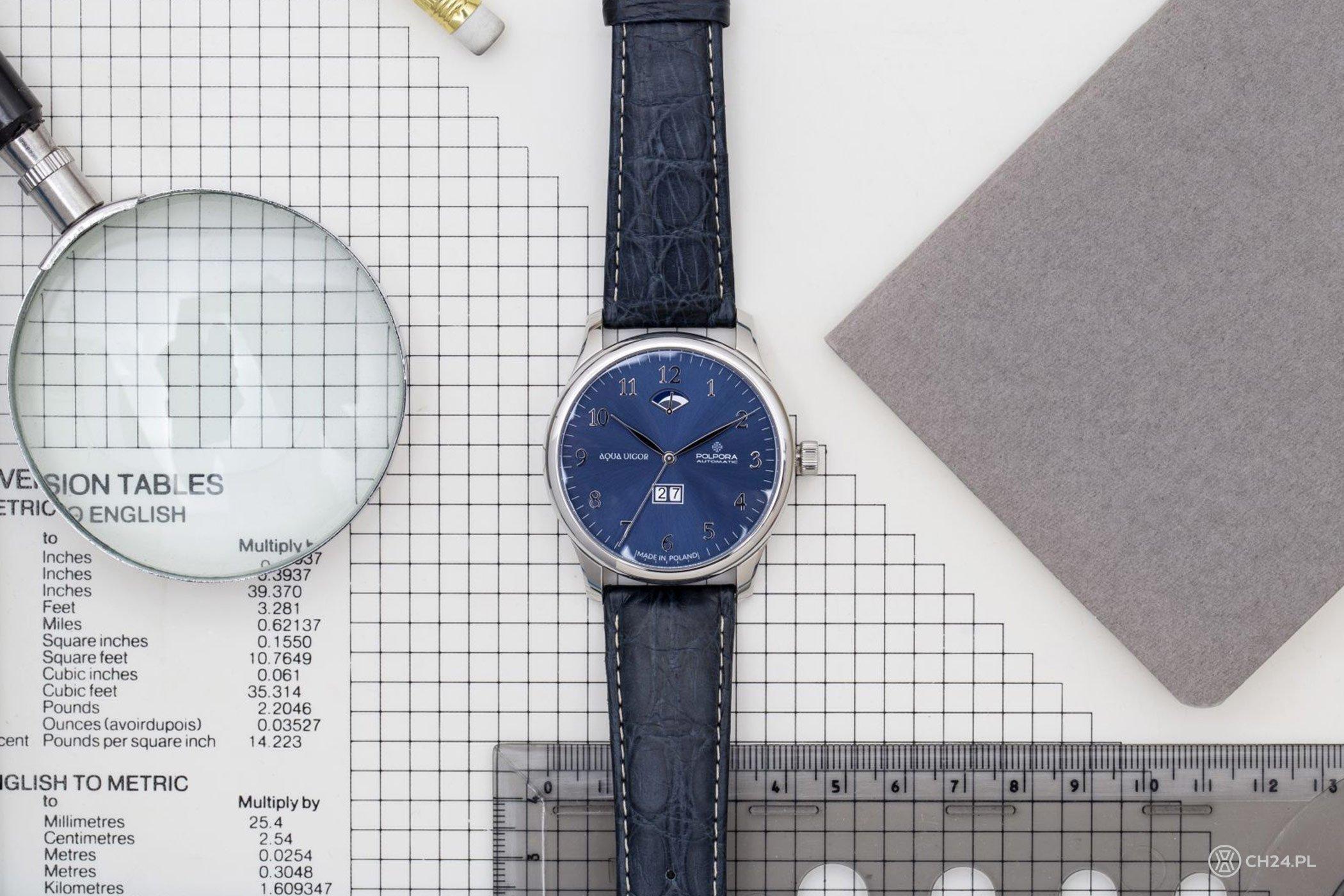 b0dded2c90df1a Polpora - premiera zegarków 1918, Aqua Vigor i Globtroter [cena ...