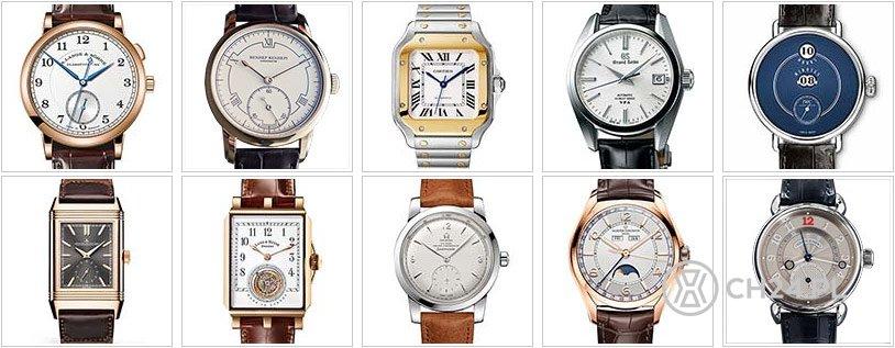 Zegarek klasyczny - nominacje