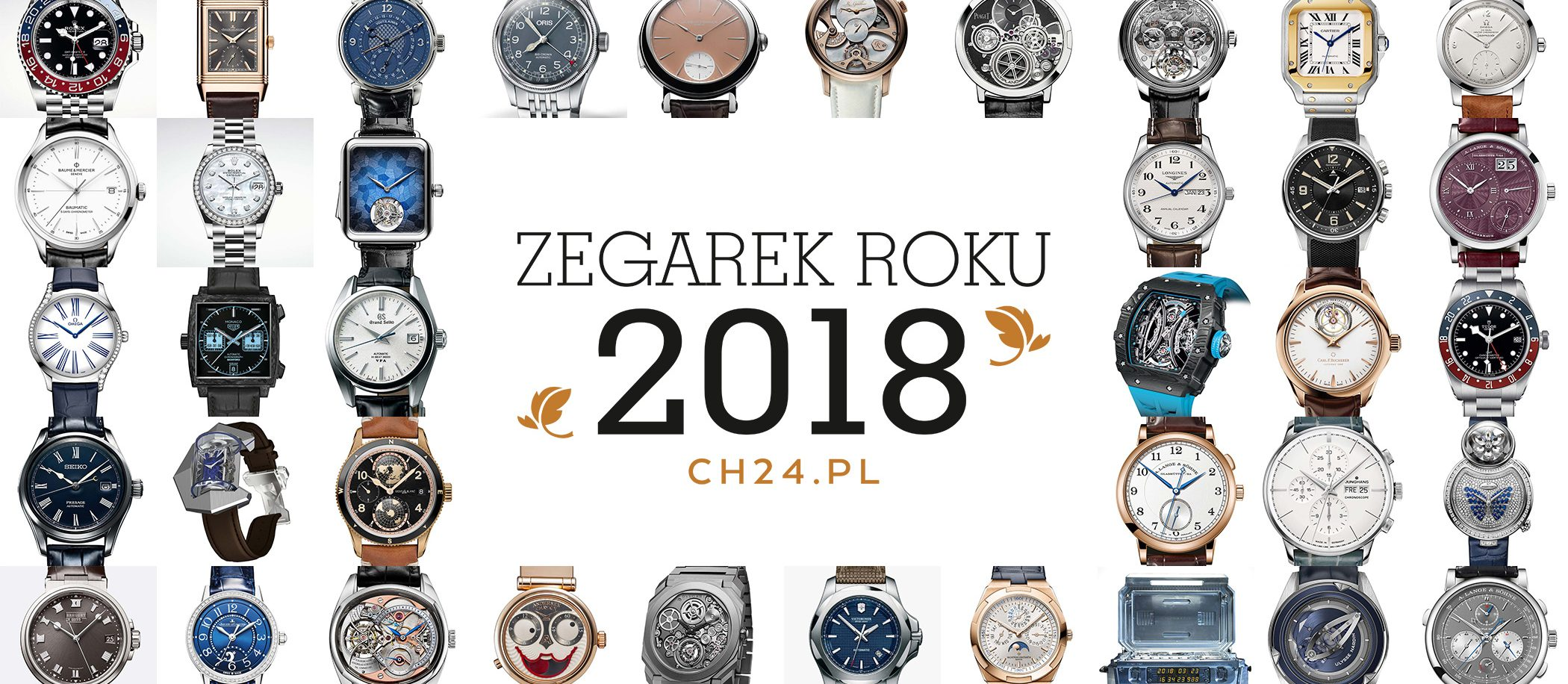 Zegarek Roku 2018