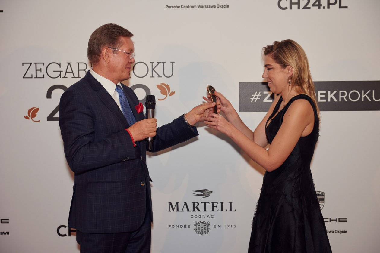 Eugeniusz Szwed (KMZiZ) i Daria Szajnar (Dyrektor Marketingu W.Kruk)