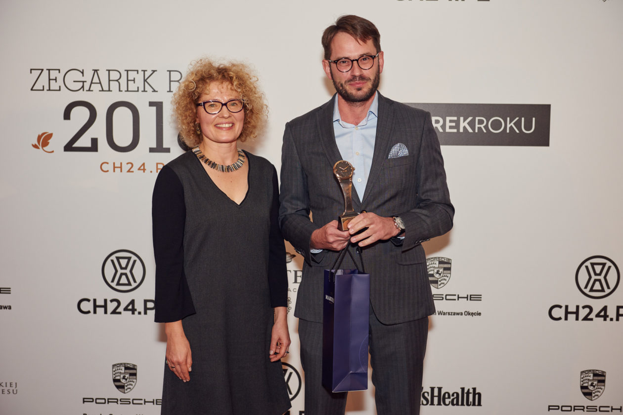 Magdalena Piekarska (CH24.PL) i Michał Stawecki (Dyrektor Marketingu Apart)