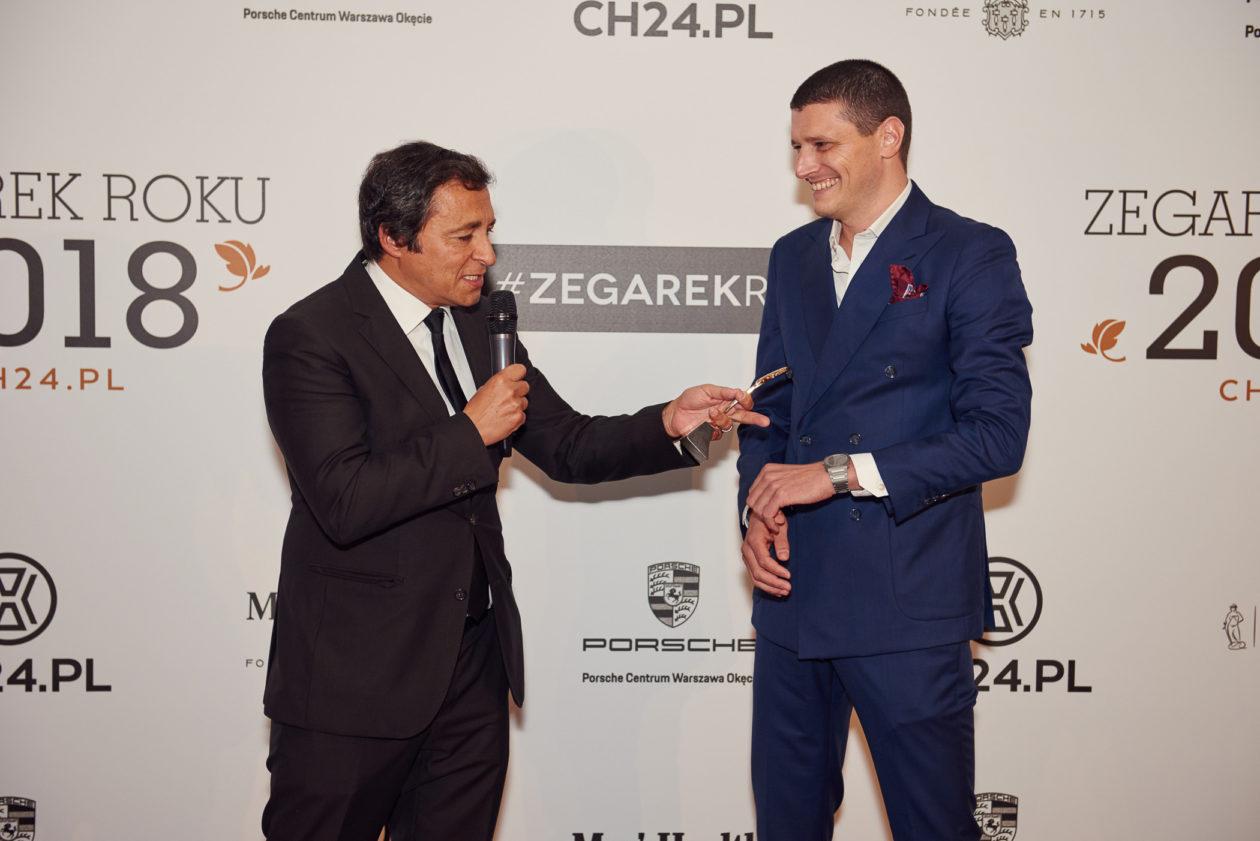 Miguel Seabra i Fabio Monti (International Marketing Director Bulgari)