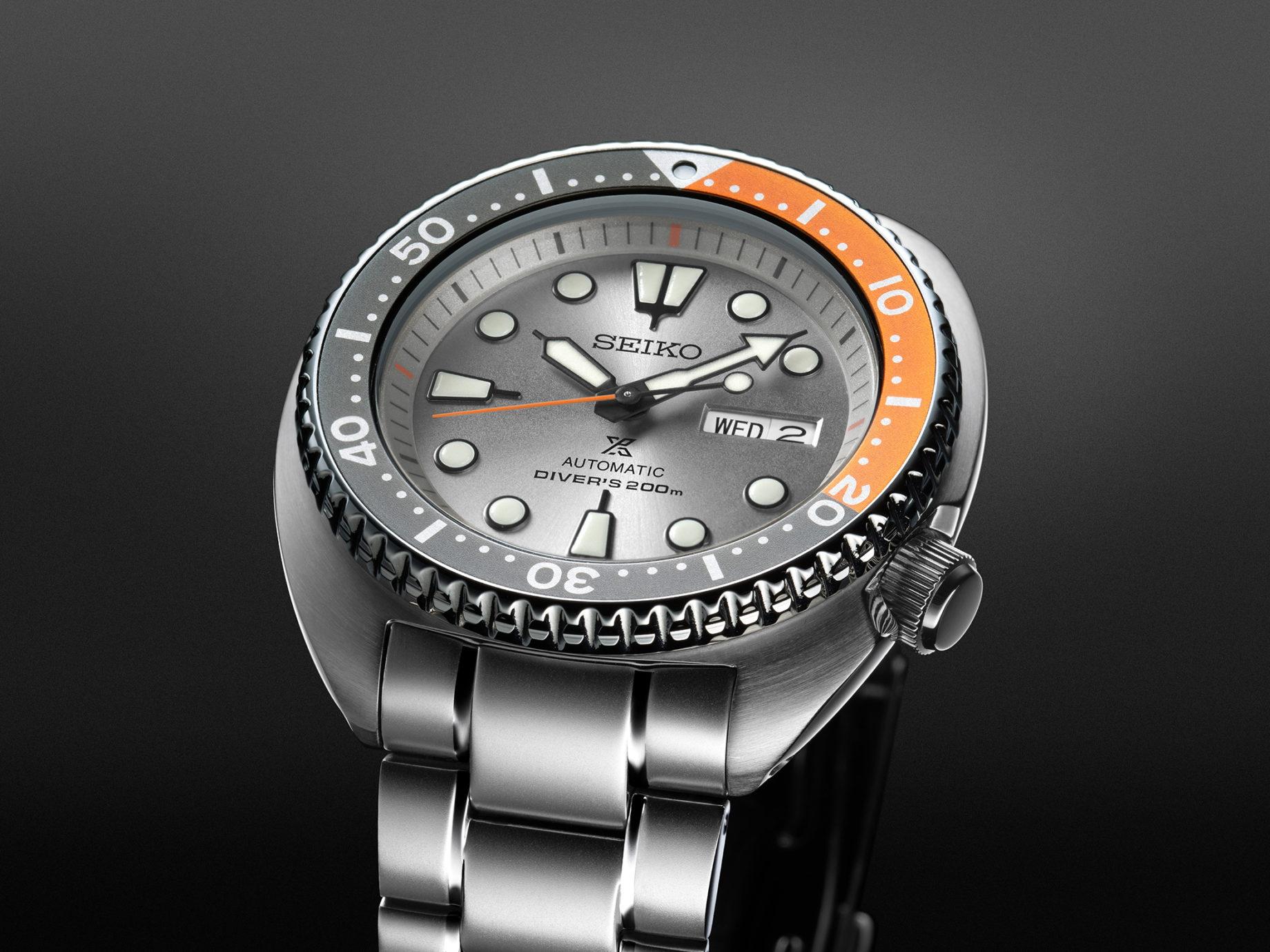 "Seiko Automatic Diver's SRPD01K1 ""Turtle"""
