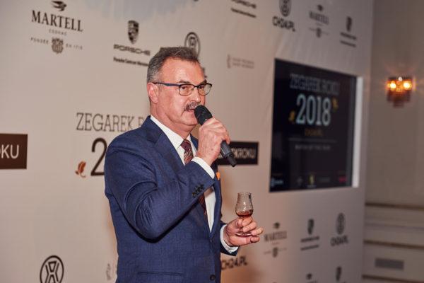 Zegarek Roku 2018 – Dariusz Fabrykiewicz