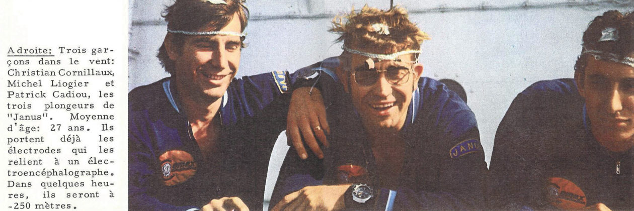 Cornillaux, Liogier i Cadiou ustanawiają rekord