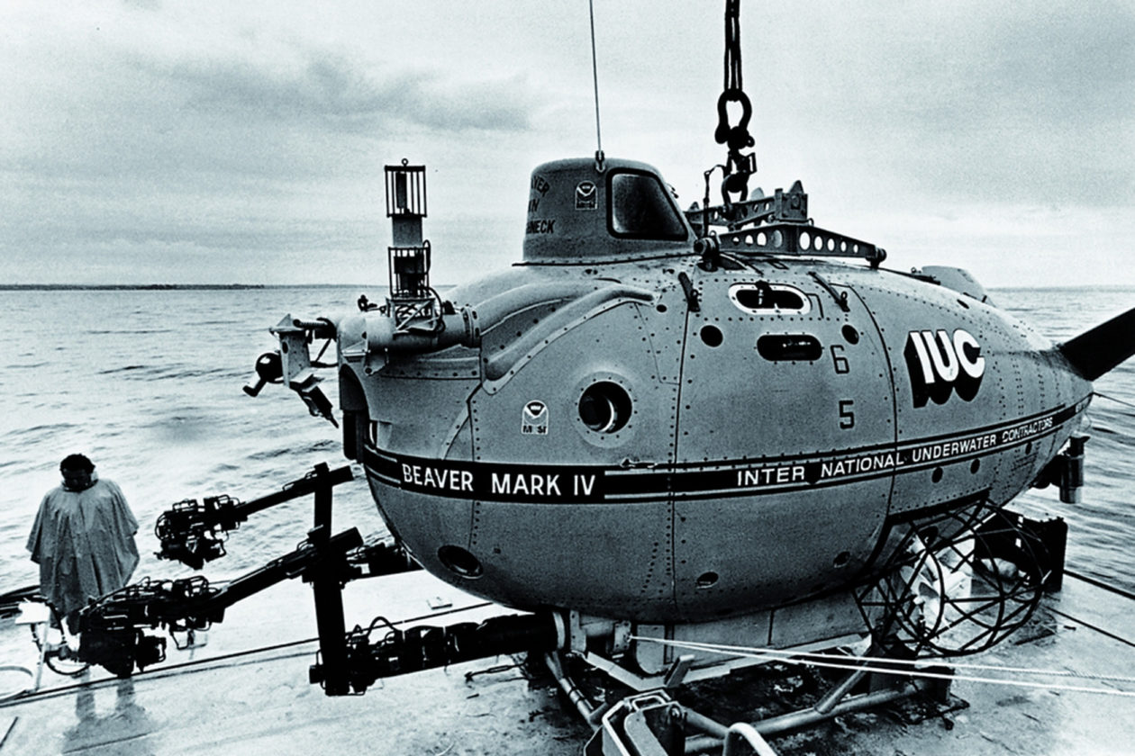 Łódź podwodna Beaver MK IV