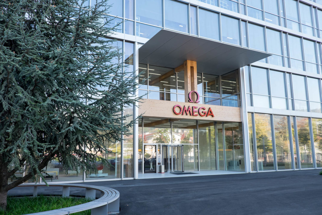 Nowa fabryka zegarków marki Omega w Bienne