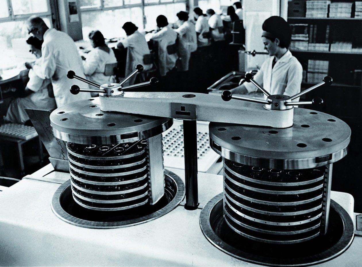 Spektrometr mas w firmie Omega