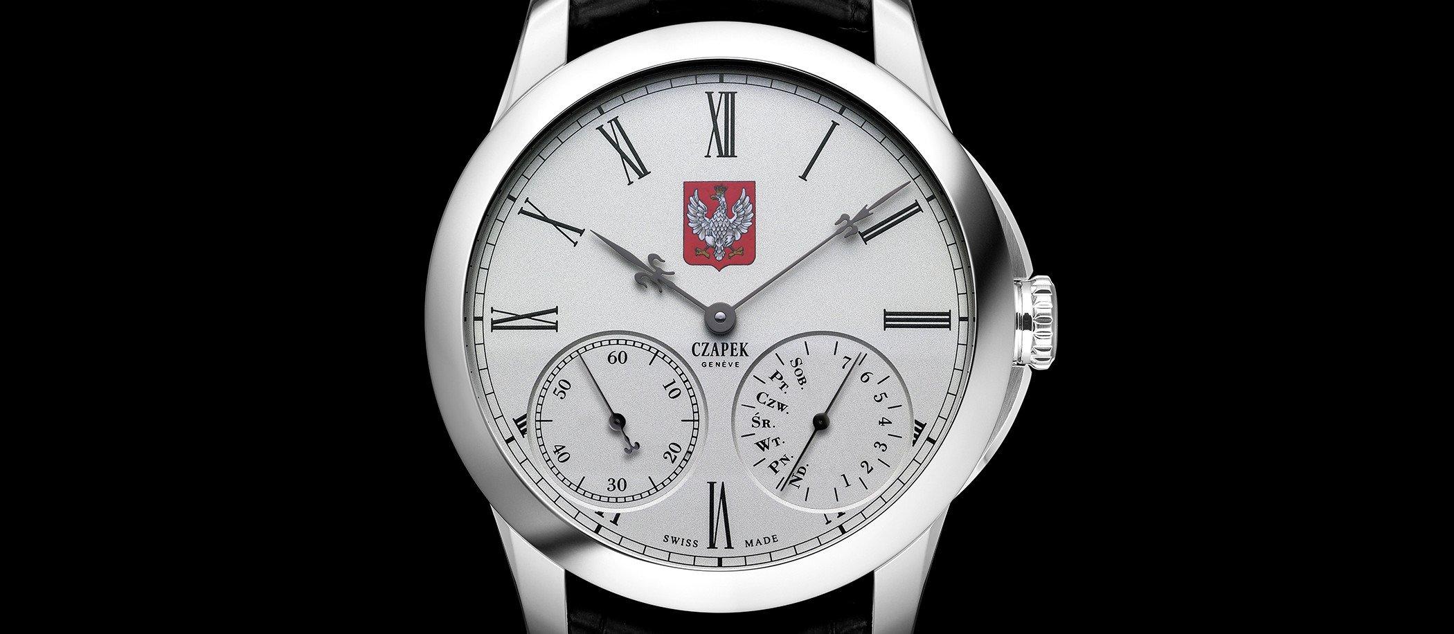 "Czapek Quai des Bergues ""100th Anniversary – Tribute to Poland"""