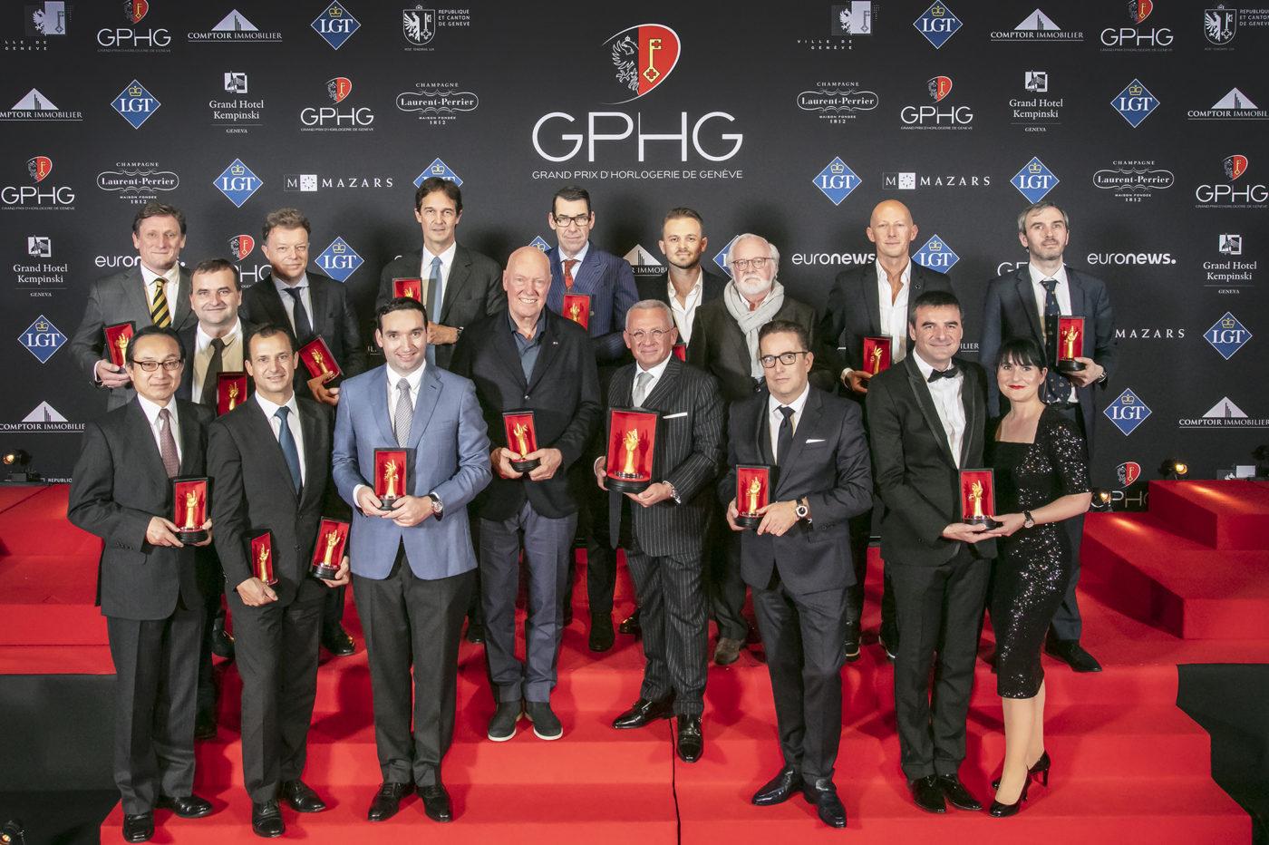 Grand Prix d'Horlogerie de Geneve 2018 – zwycięzcy