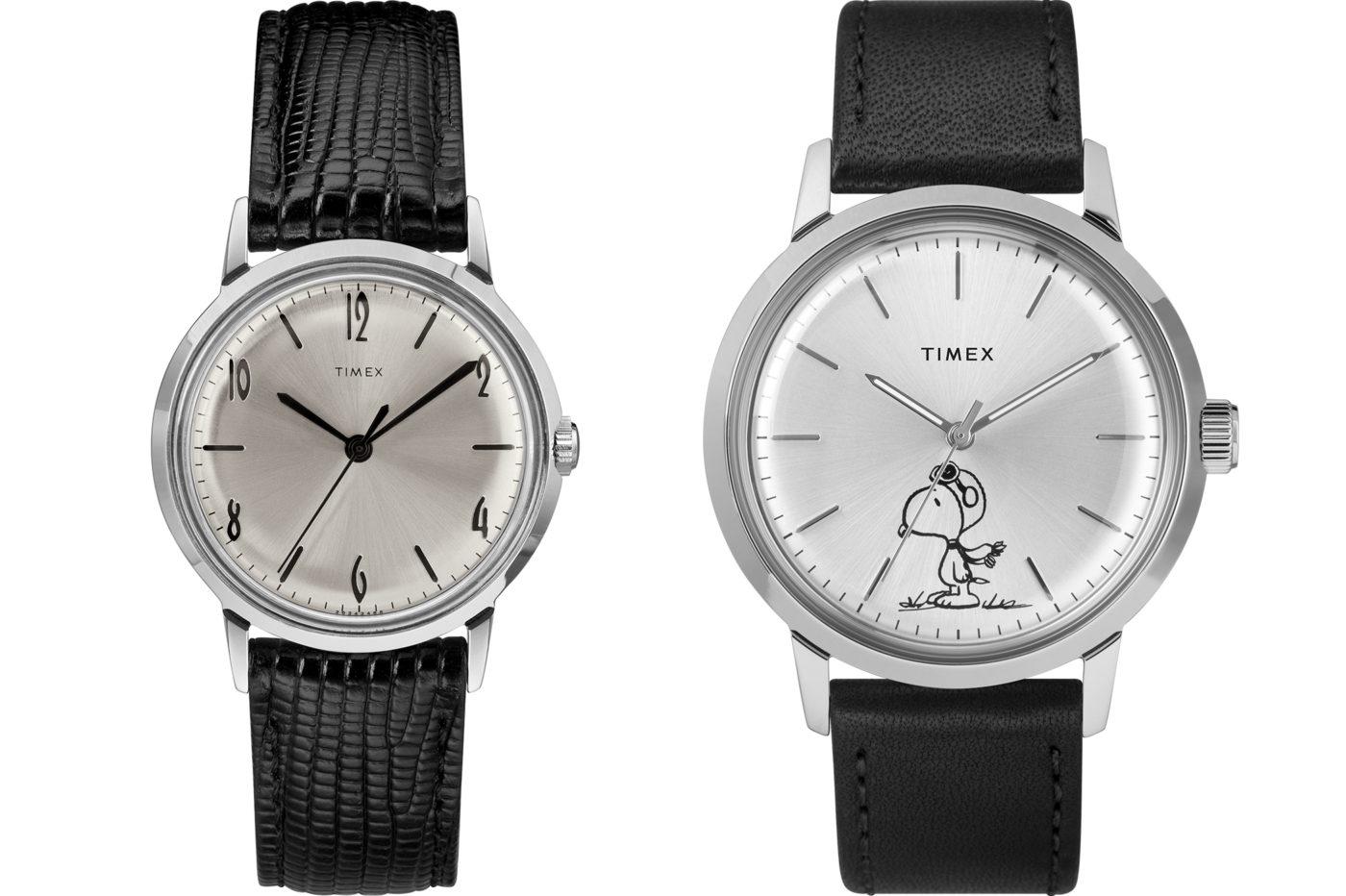 Timex Marlin – mechaniczny, ze Snoopym na cyferblacie [dostępność, cena]