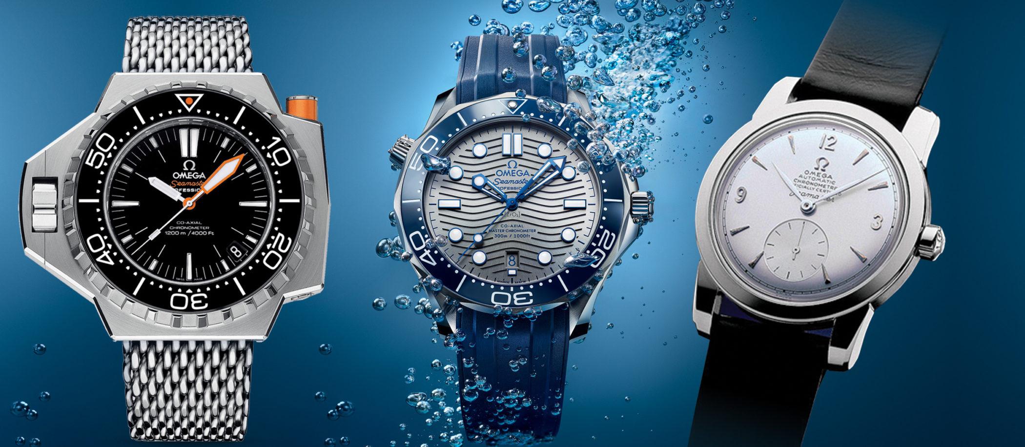 Omega Seamaster - historia zegarka