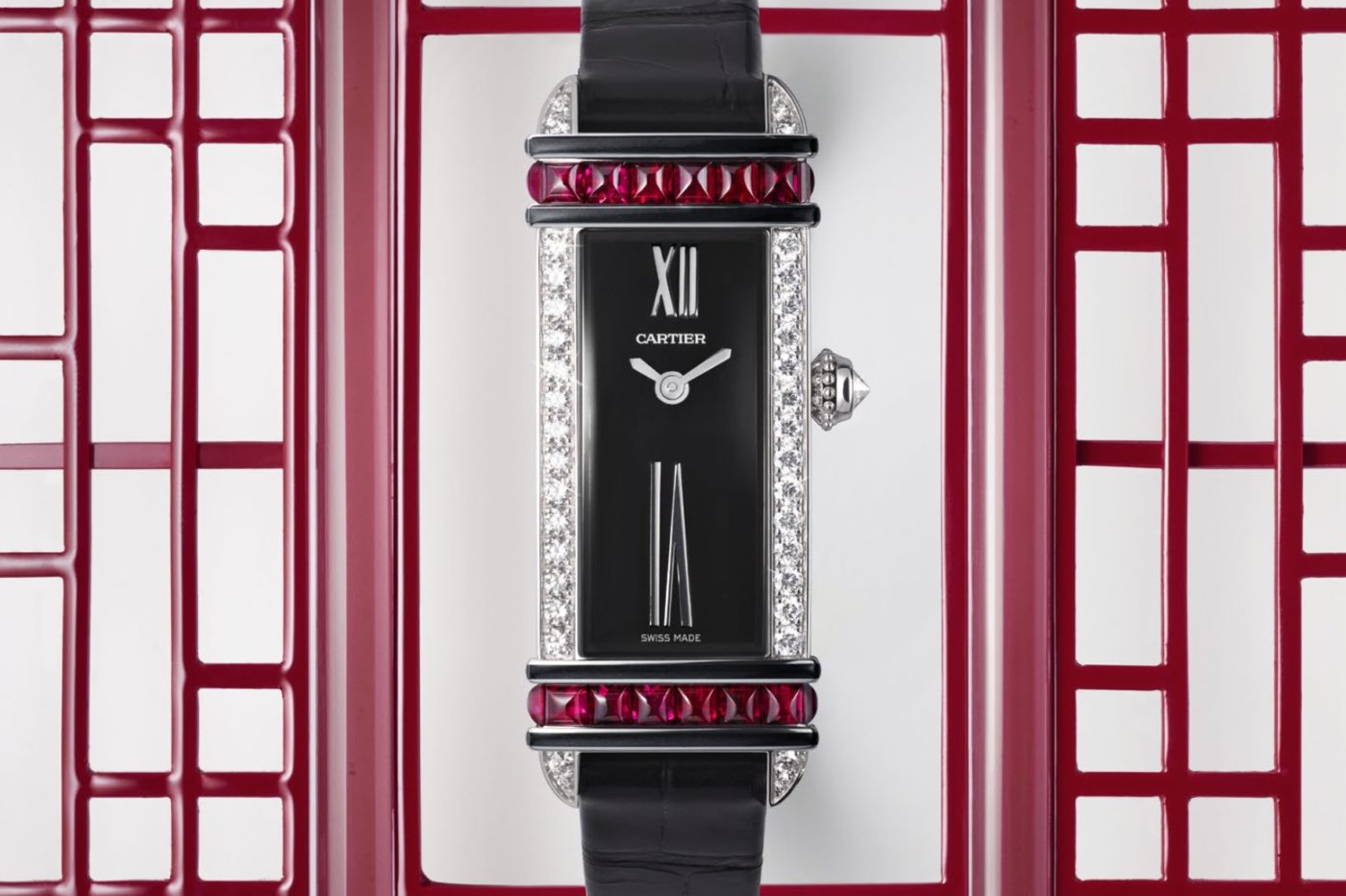 Cartier Libre Tank Chinoise Red – SIHH 2019