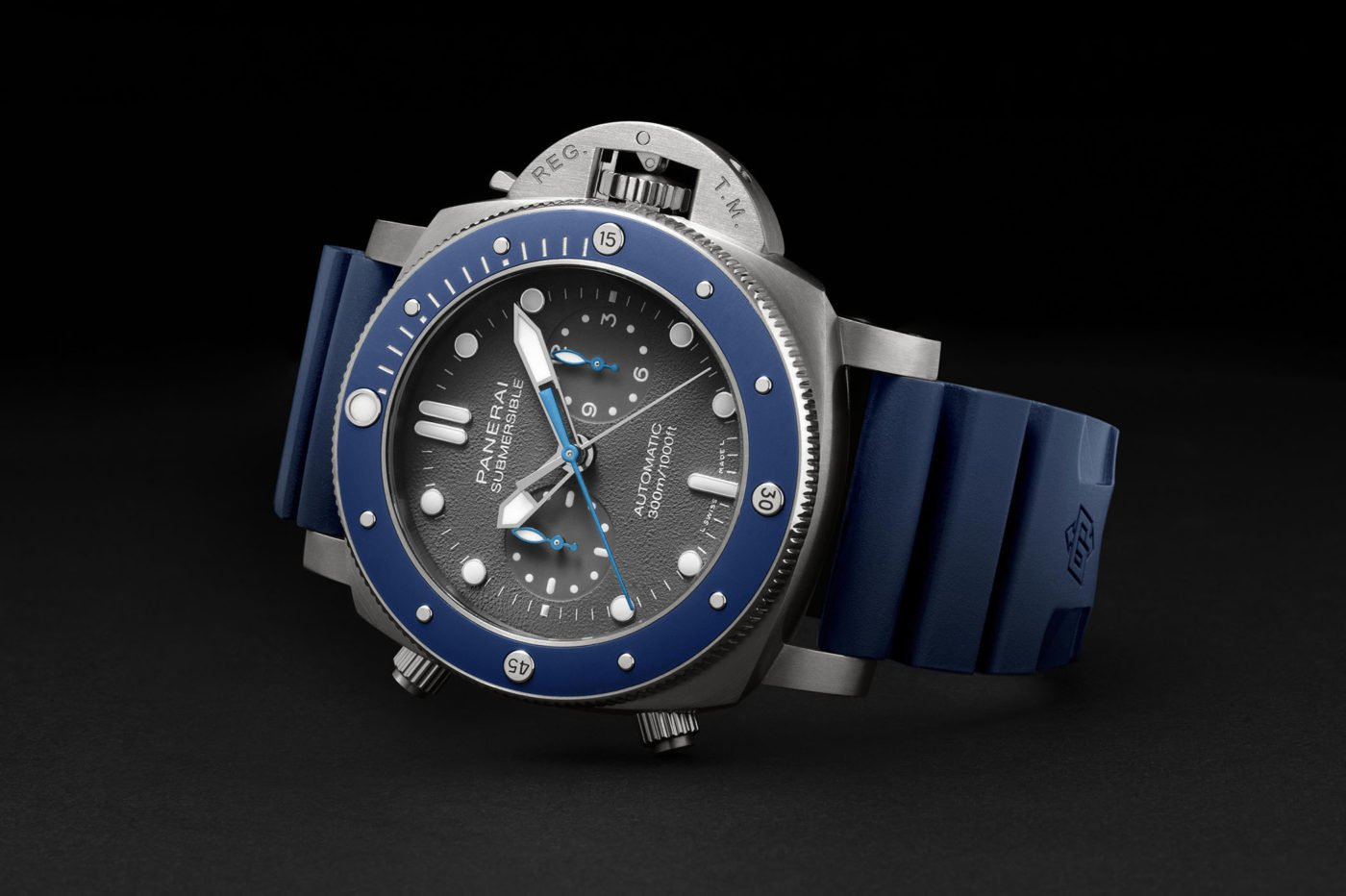Panerai Submersible Chrono Guillaume Néry Edition PAM00982 – SIHH 2019 [cena]