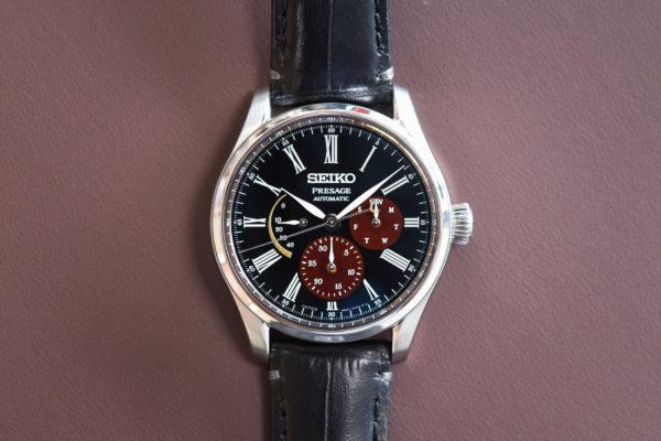 Seiko Presage Urushi Byakudan-nuri / foto: Monochrome-watches.com