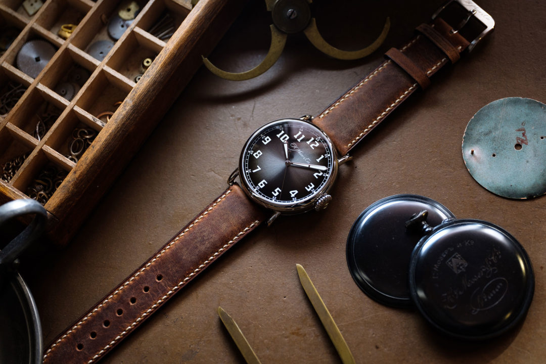 H. Moser & Cie. Heritage Bucherer Blue Edition
