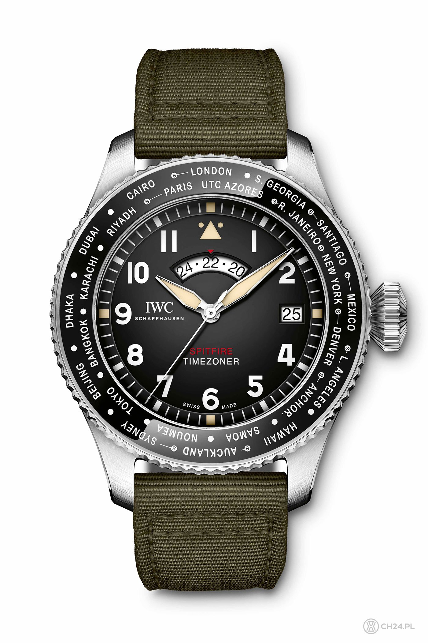 "IWC Pilot's Watch Timezoner Spitfire Edition ""The Longest Flight"""