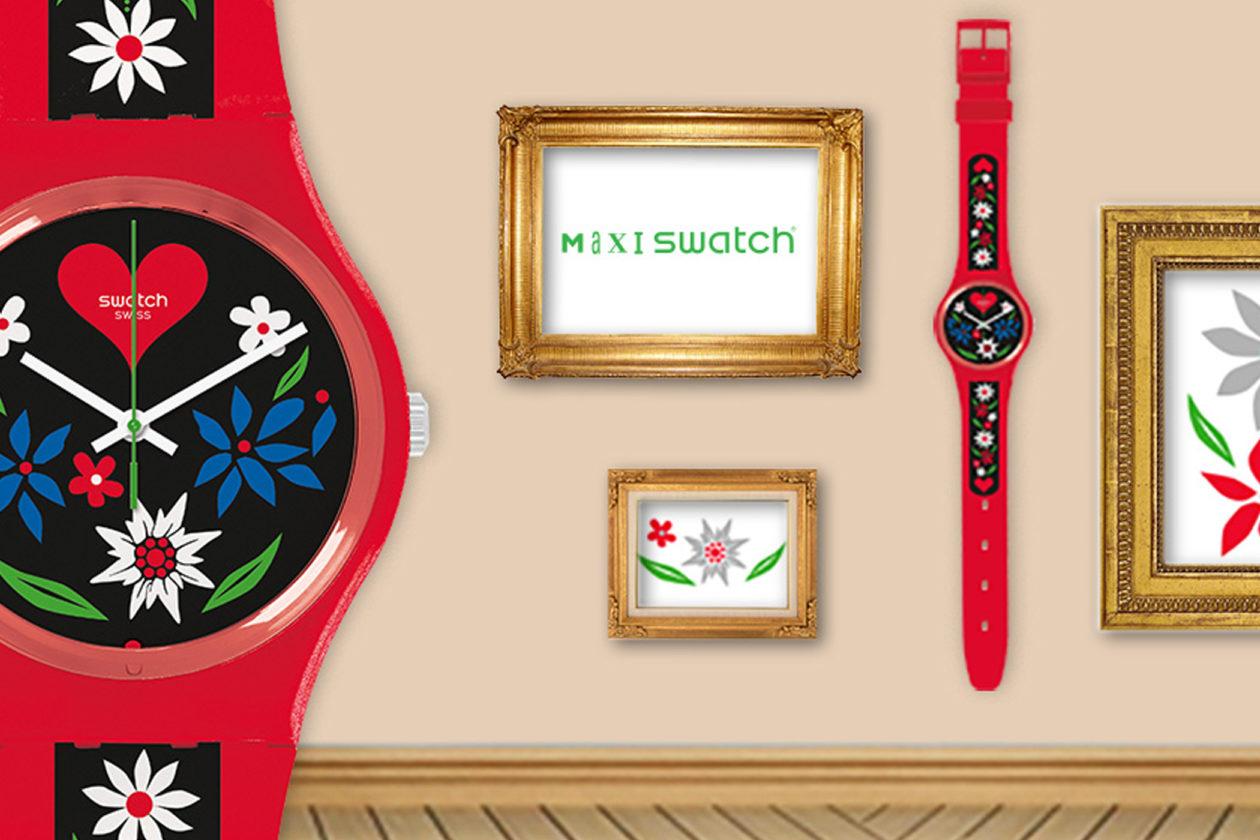 Maxi Swatch / foto: swatch.com