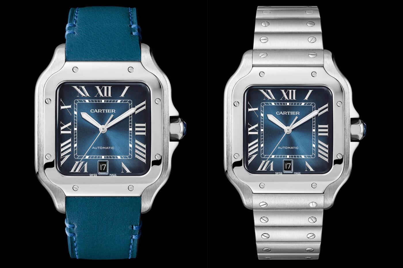 Cartier Santos Gradient Blue Dial – SIHH 2019 [cena]