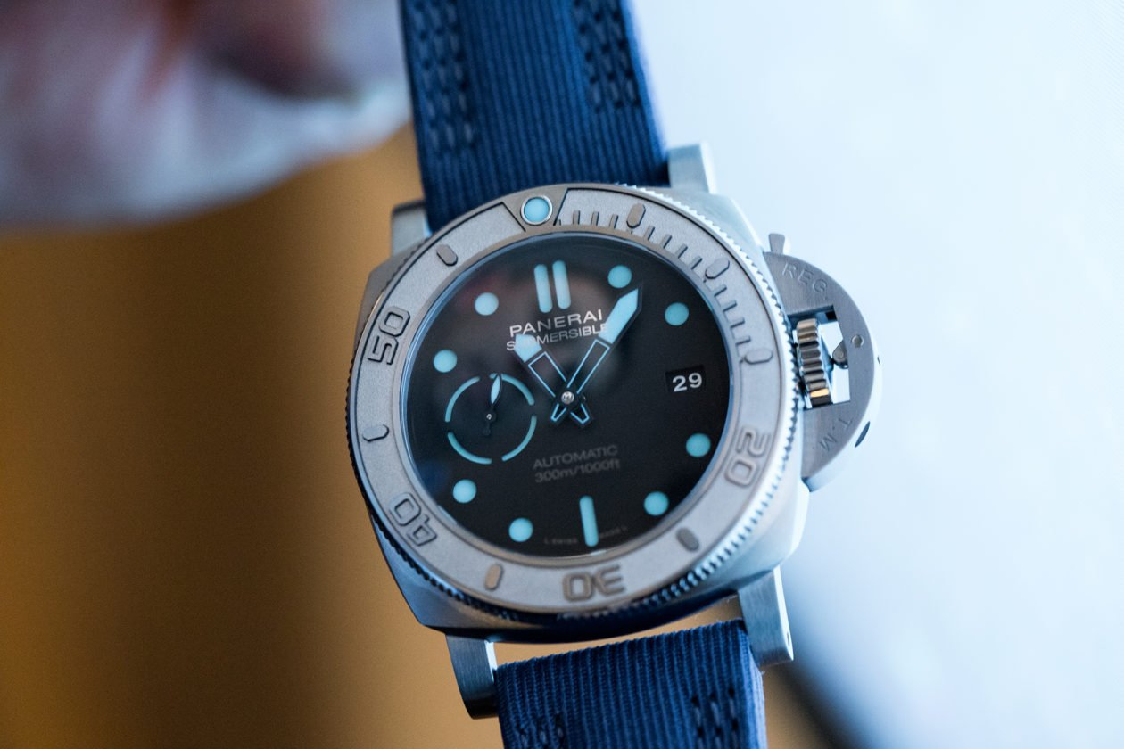 Panerai Submersible Mark Horn Edition
