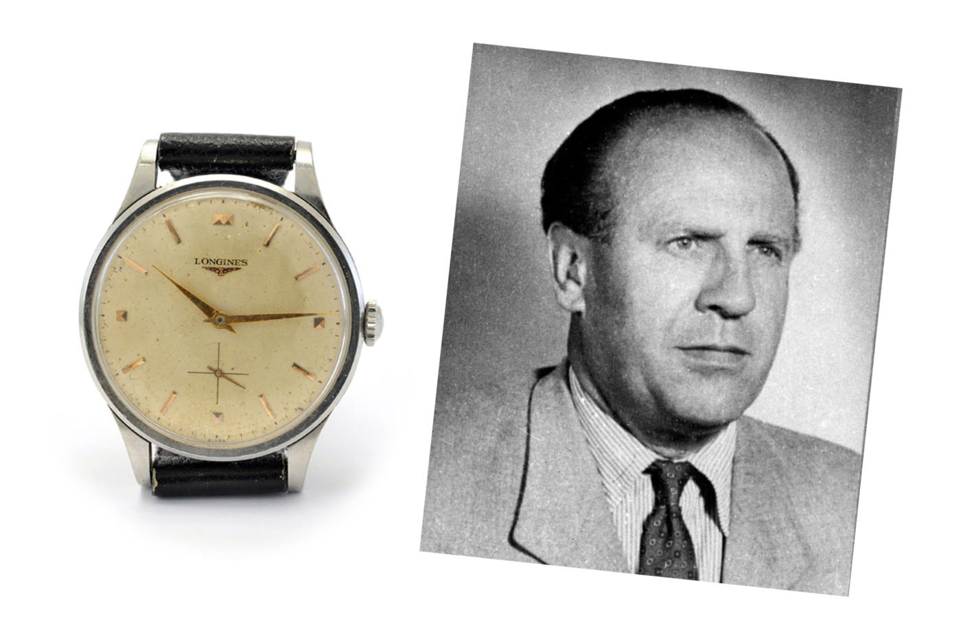 Aukcje Zegarek Longines Oskara Schindlera na sprzedaż