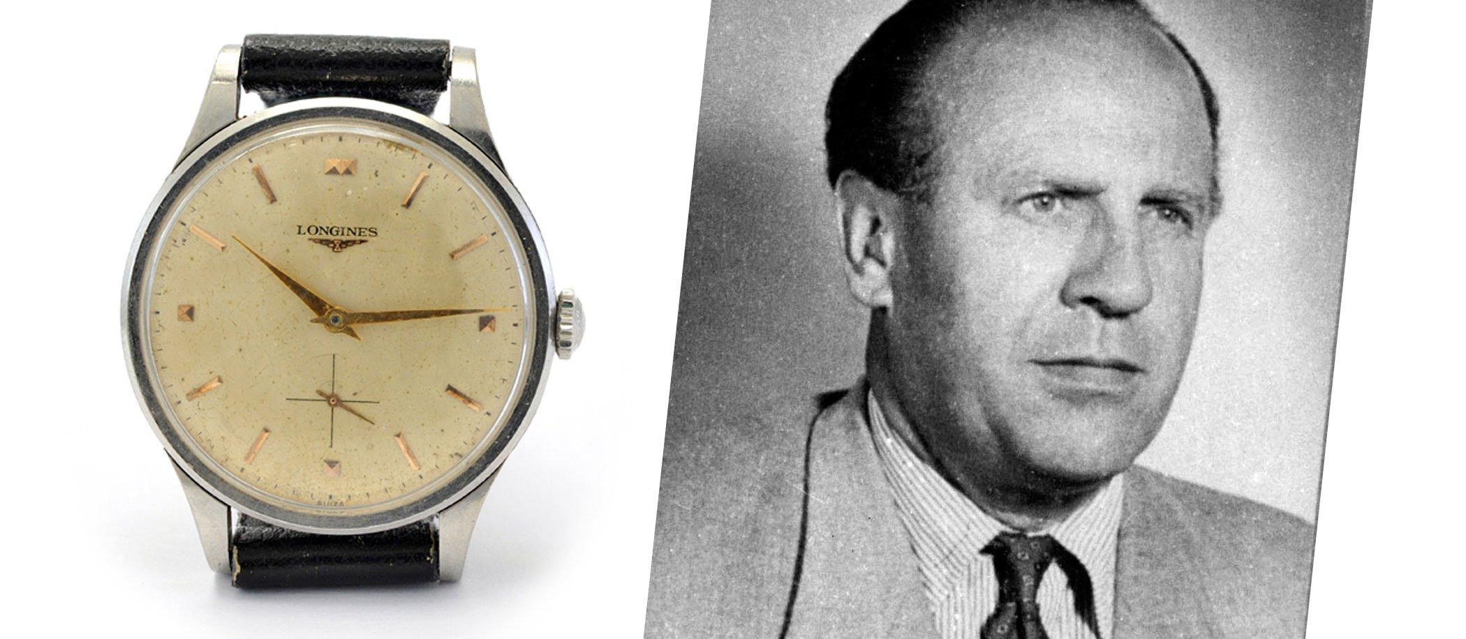 Oskar Schindler i jego Longines