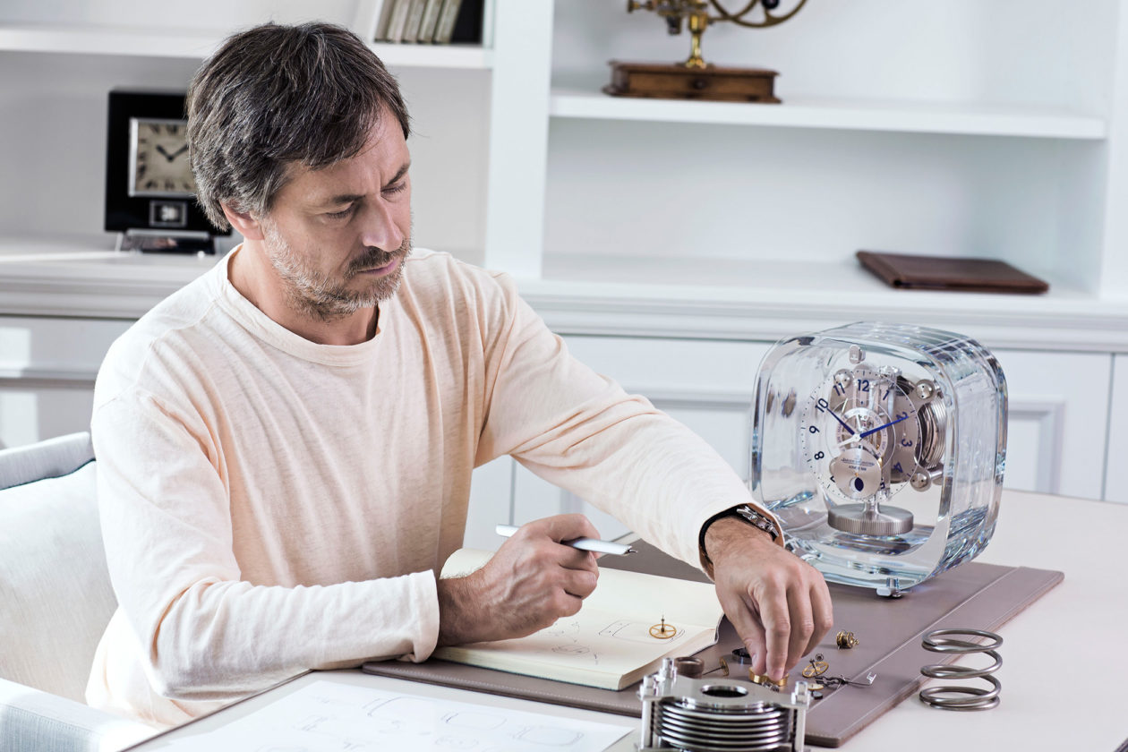 Marc Newson i Jaeger-LeCoultre Atmos
