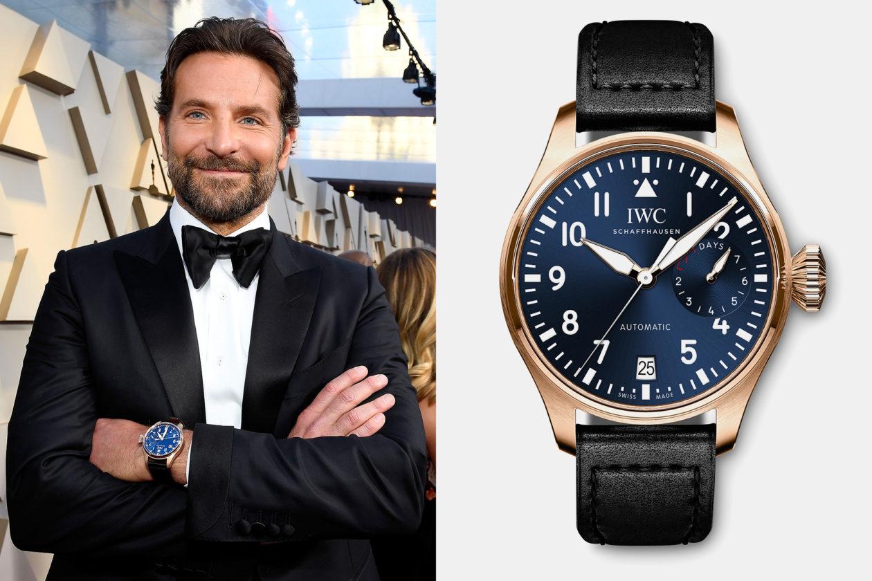 Bradley Cooper i IWC Big Pilot's IW500923