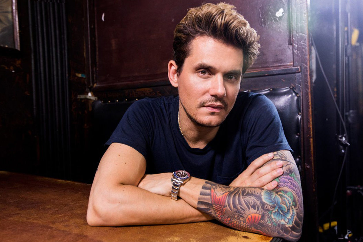 John Mayer with his Rolex / photo: gq.com