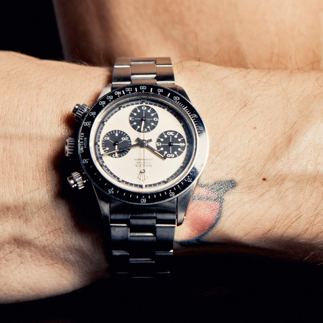John Mayer with Rolex Daytona / photo: New York Times