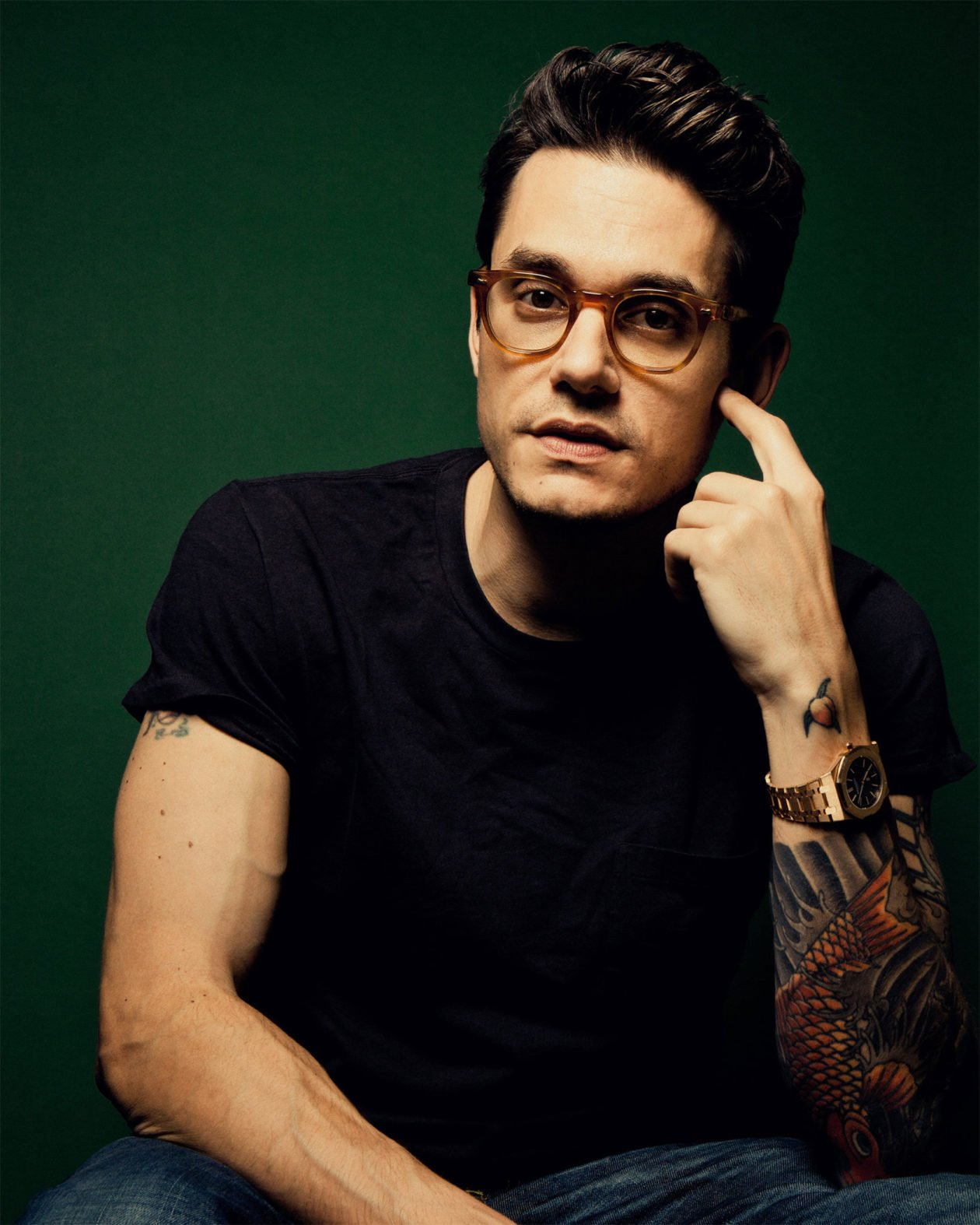 John Mayer with AP / photo: New York Times
