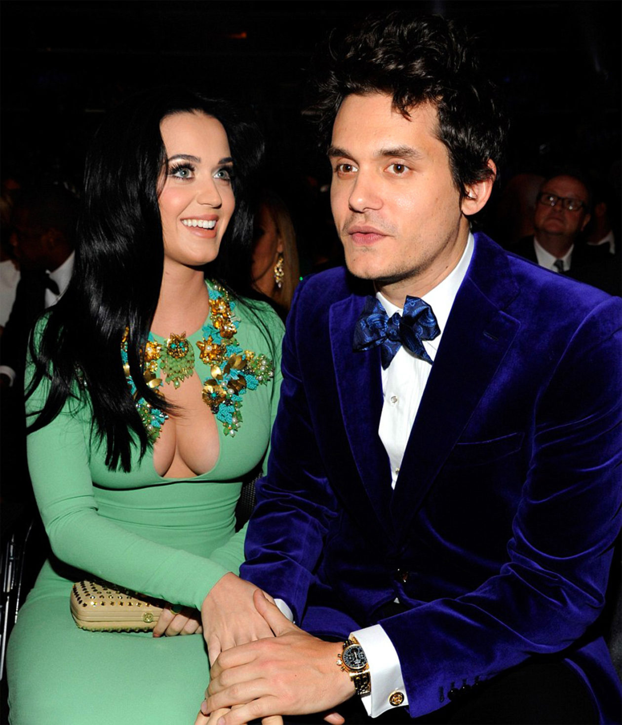 Katy Perry and John Mayer / photo: www.grammy.com