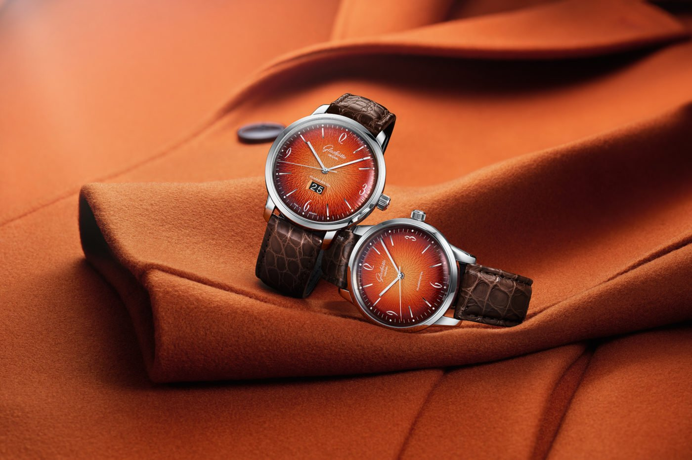 Glashütte Original Senator Sixties Annual Edition Fiery Orange
