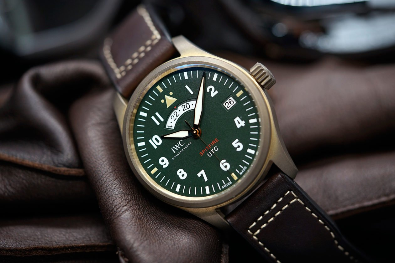 "IWC Pilot's Watch UTC Spitfire Edition ""MJ271"""