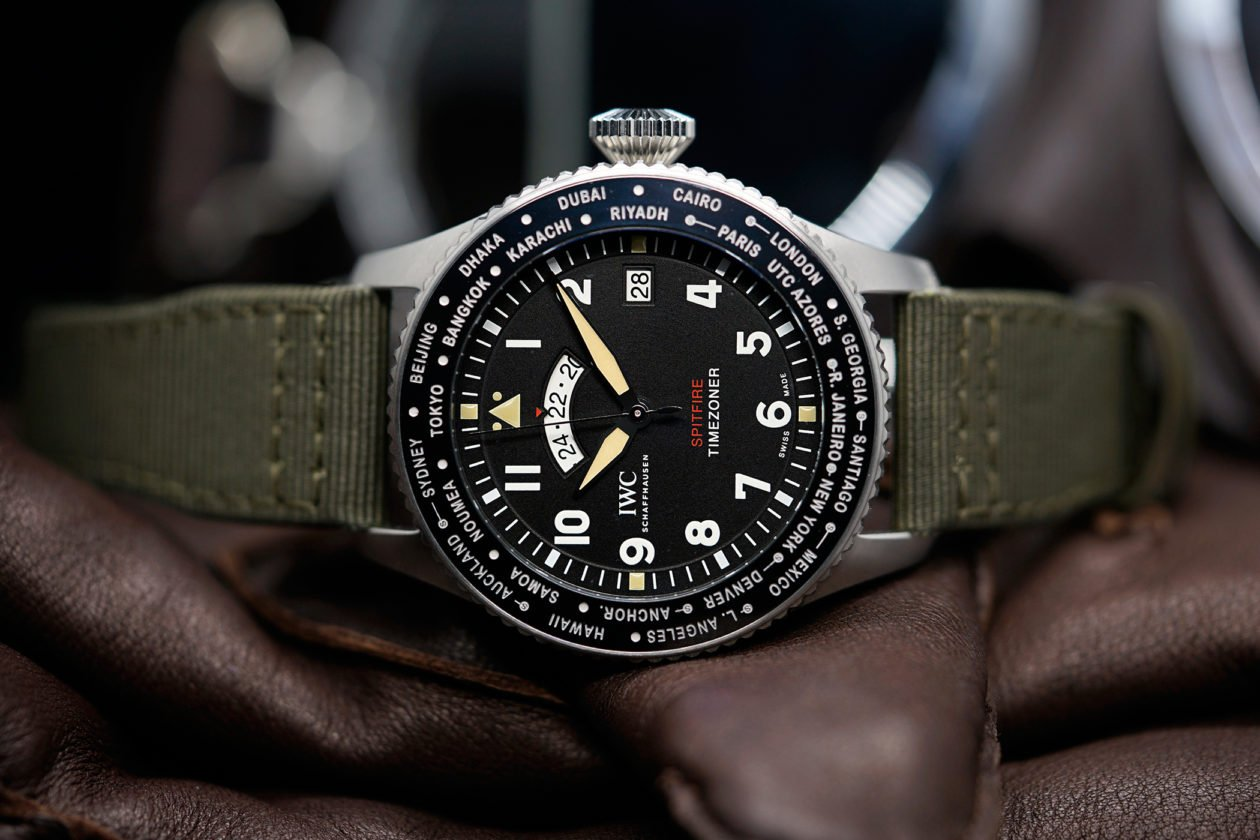 "IWC Pilot's Watch Timezoner Spitfire Edition ""The Longest Flight"""