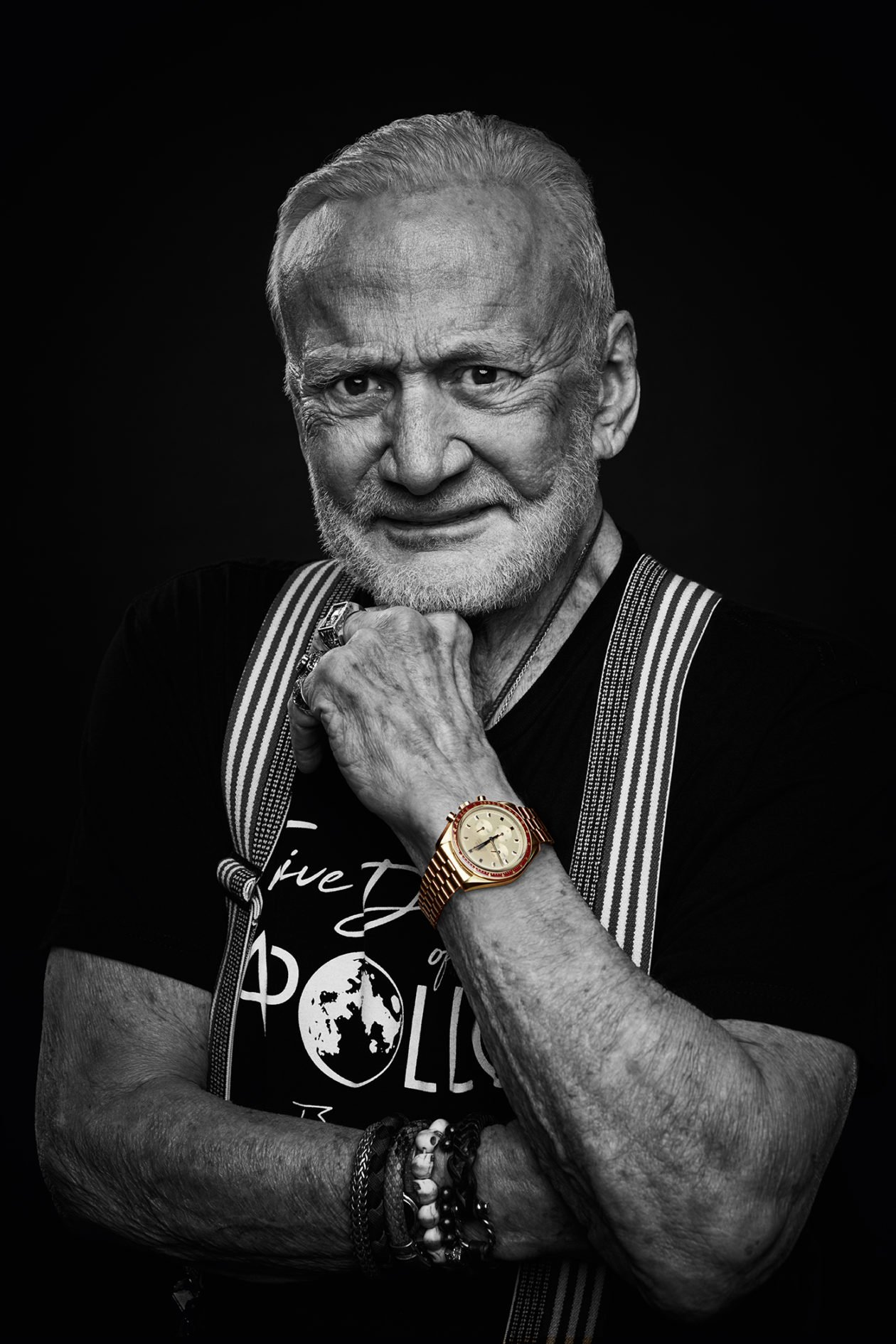 Buzz Aldrin i Omega Speedmaster Apollo 11 50th Anniversary Limited Edition