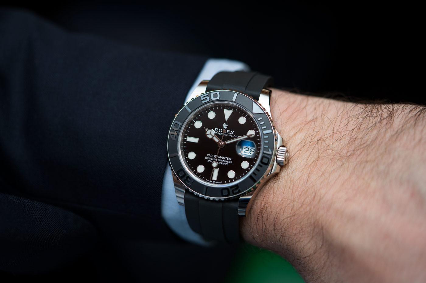 Rolex Yacht-Master 42 – Basel 2019 [zdjęcia live, cena]