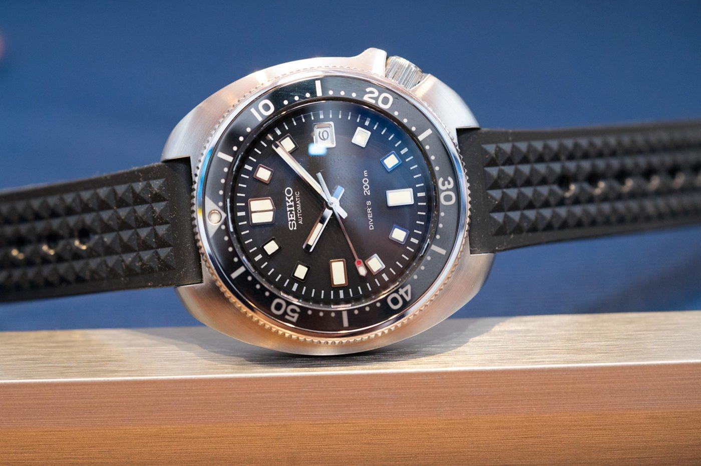 Seiko 1970 Diver's Re-creation Limited Edition SLA033 – Basel 2019 [zdjęcia live, dostępność, cena]
