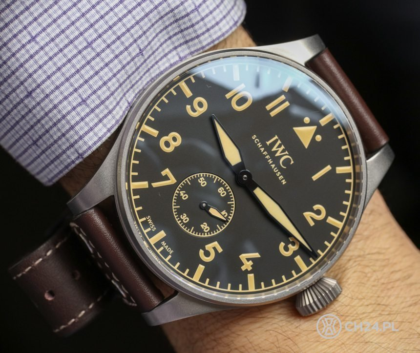 IWC Big Pilot 55 mm / foto: ablogtowatch.com