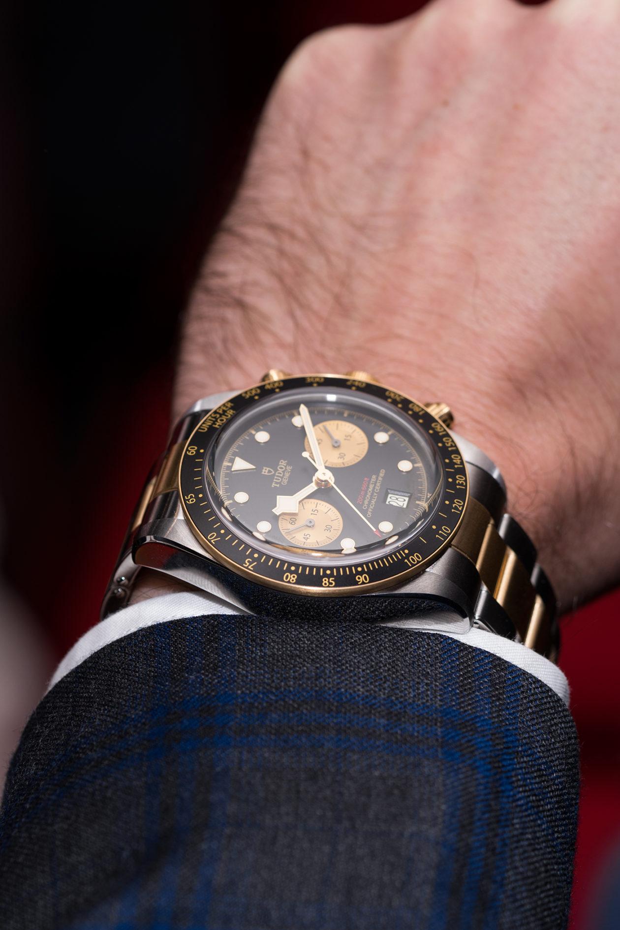 Tudor Black Bay Chronograph S&G