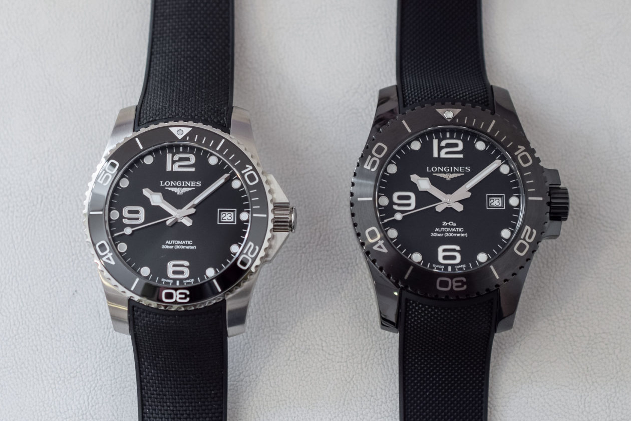 Longines HydroConquest w stali i ceramice / foto: monochrome-watches.com