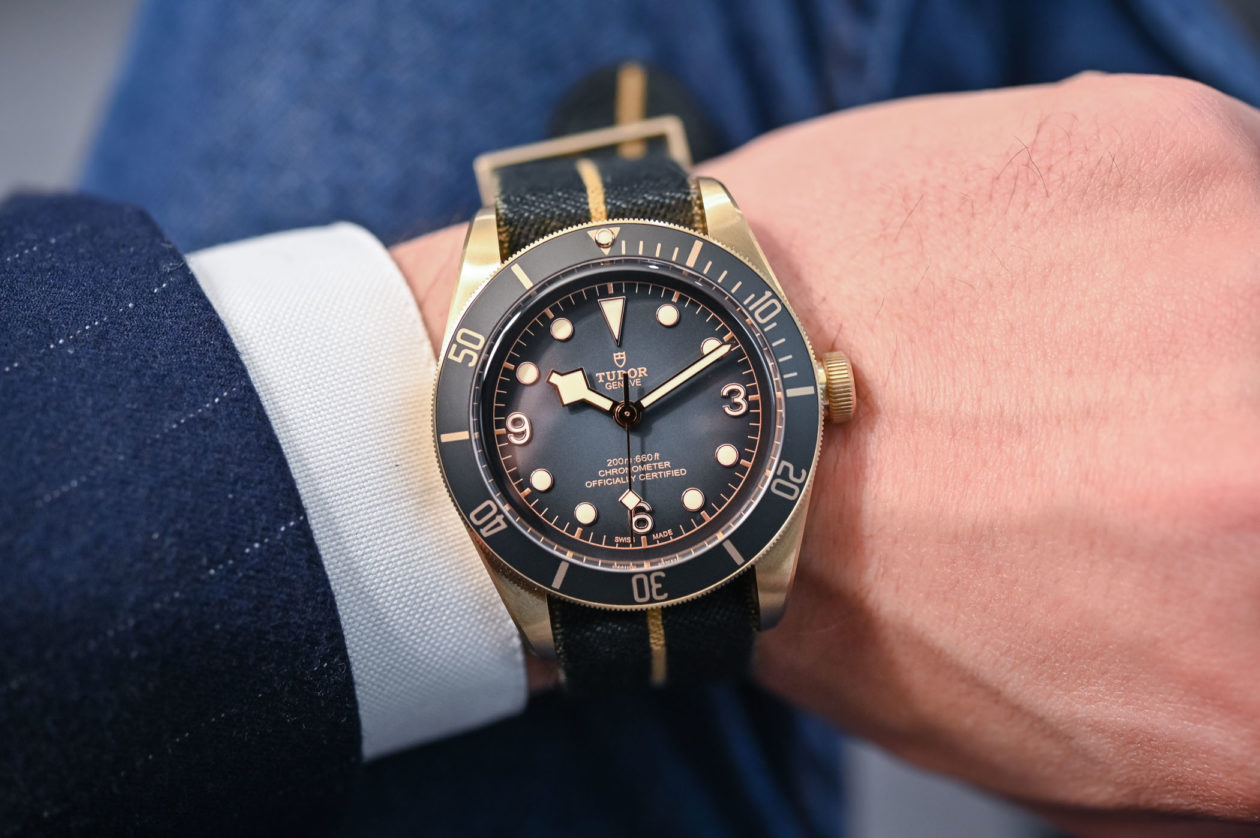 Tudor Black Bay Bronze / foto: monochrome-watches.com
